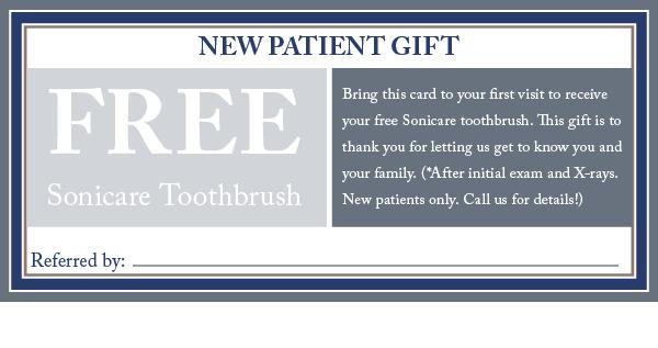 new dental patient specials